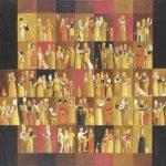 Cores Cruzadas Acrílica s/ tela 40 x 50 cm.