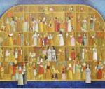 Feitio de Oratório Acrílica s/ tela 27 x 80 cm.