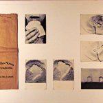 O Pão Nosso de Cada Dia, Série de seis (6) cartões postais e saco de pão, 59 x 69 cm,1978.