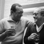 Ciro Monteiro e Vinicius de Moraes – Anos 60, Fotografia, 42 x 60 cm, Tiragem 1/30.