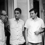 Manuel Bandeira, Chico Buarque, Tom Jobim e Vinicius de Moraes, Fotografia 53 x 80 cm, Tiragem 1/15.
