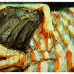 Adams Carvalho Faceless 22 Óleo Sobre Tela 30 x 50 cm, 2011.
