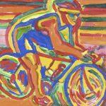 Bike Acrílica e óleo sobre tela 23 x 30 cm, 2004