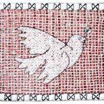 Marcos Cardoso O Divino Espírito Santo Saco plástico costurado com plástico 118 x 143 cm, 2006.