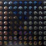 Ubi Bava Homenagem ao espectador Espelhos parabólicos e acrílico 78 x 87 cm