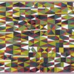 Gonçalo Ivo Gross Poisson, Petit Poison Têmpera e colagem sobre tela 90 x 180 cm