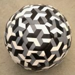 Felipe Barbosa, Cubic Ball, Soccer ball 8.66 in x 8.66 in x 8.66 in, 2012