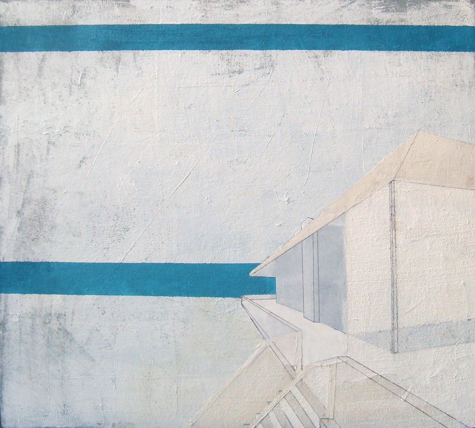Bruno Miguel, Homenagem ao cessar fogo, impermeabilizante de piscina, acrílica, óleo, esmalte, primer automotivo e colagem sobre plush, 90 X 100 cm, 2009