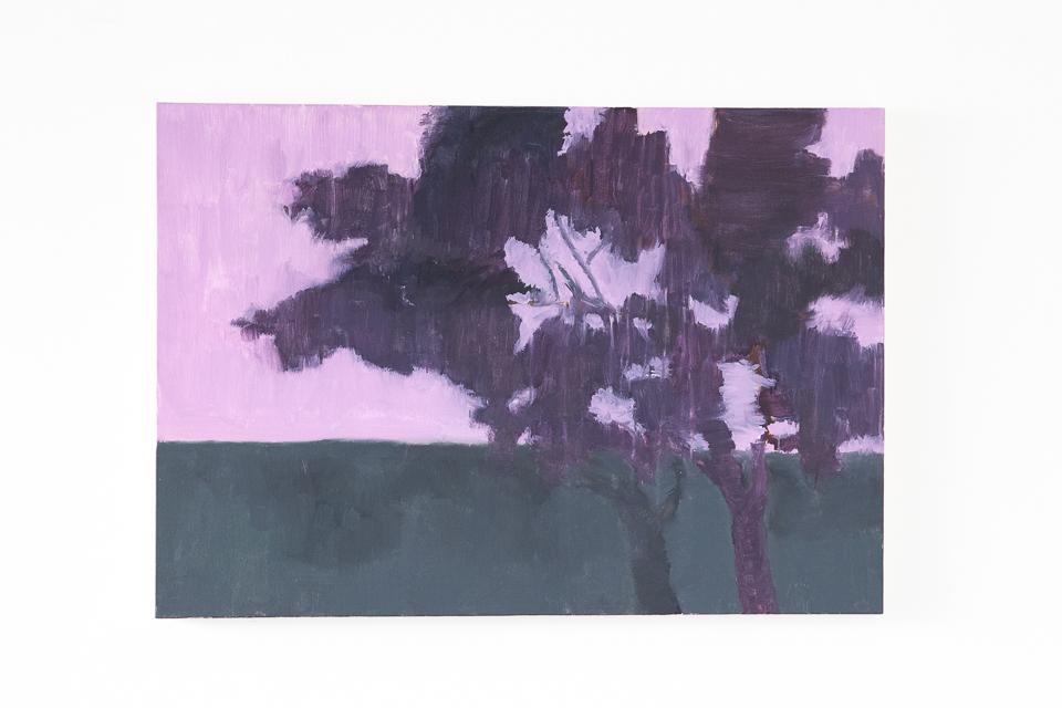 Pintura 230, Acrílica e guache sobre tela, 70 x 100 cm, 2014.