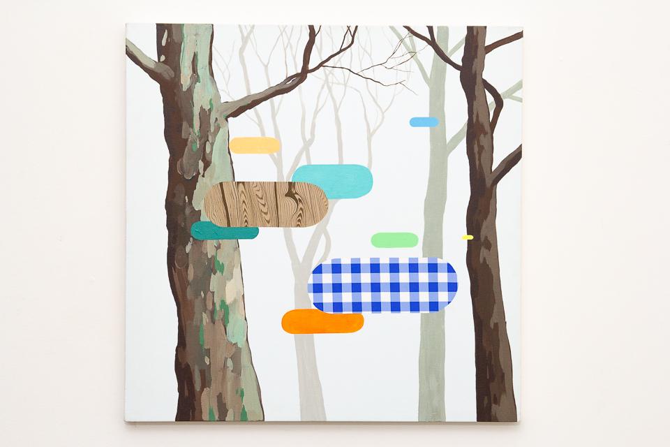 Sem Título, Acrílica sobre tela, 80 x 80 cm, 20123