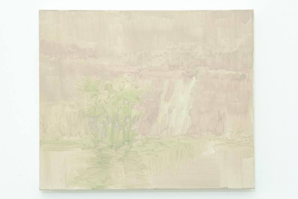 Pintura 204, Acrílica e guache sobre tela, 50 x 60 cm, 2013.