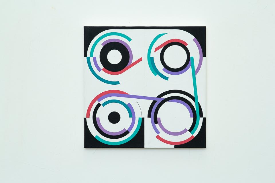 DAG, Sem Título, Acrílica sobre Tela, 50x 50 cm, 2015