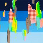 James Kudo, Mapas, Acrílica sobre tela, 120X140cm, 2015