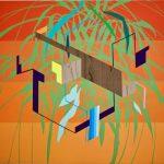 James Kudo, Sem Título, Acrílica sobre tela, 130X150cm, 2017
