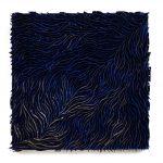 Quadrado Azul, Zinco oxidado e pintado, 50 x 50 cm, 2012