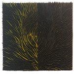 Marcos Coelho Benjmaim, Quadrado, Zinco oxidado pintado, 50 x 50 cm