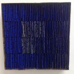 Marcos Coelho Benjamim, Quadrado, zinco oxidado pintado, 27 x 27 cm, 2005.
