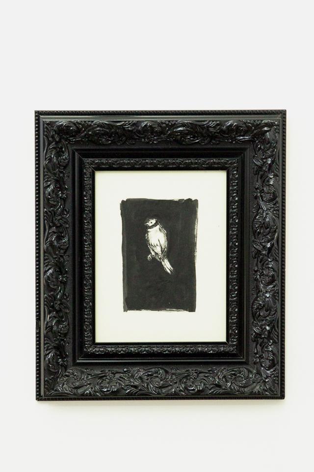 Vítor Mizael, Nanquim sobre papel 47 x 42 cm, 2011