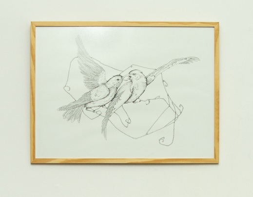 Vítor Mizael, Sem título, Nanquim sobre papel, 56 x 75 cm, 2016-18