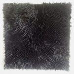 Marcos Coelho Benjamim, Quadrado Negro, Zinco oxidado pintado em Negro, 50 x 50 cm, 2013.