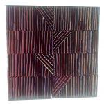 Marcos Coelho Benjamim, Quadrado Vermelho, Zinco oxidado pintado em Vermelho, 27 x 27 cm, 2005.