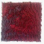 Marcos Coelho Benjamim, Quadrado Vermelho, Zinco oxidado pintado em Vermelho, 50 x 50 cm, 2013.