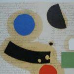 Júlio Villani Sorriso de Nuven Óleo sobre documentos cartoriais 25 x 35 cm., 2009.