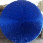 Marcos Coelho Benjamim Roda Azul Zinco Oxidado pintado em Azul 120 cm de Diâmetro, 2009.