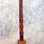 Gonçalo Ivo Escultura Madeira Pintada 97 x 16 x 13 cm.