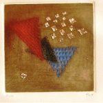 Arthur Piza Le Crescendo du Noir I Gravura em metal 45,5 x 31,5 cm, Tiragem 25/99.