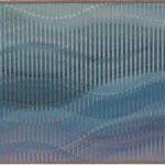 Abraham Palatnik W – 111 Acrílica sobre Madeira 33,3 x 54,5 cm, 2007