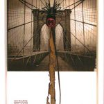 Anna Bella Geiger, Flumenpont nº 2, fotografia, encáustica, vidro, plástico e limal, 39 x 31cm