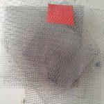 Arthur Luiz Piza, T – 785, Arame galvanizado e zinco pintado em acrílica, 80 x 65 x 22 cm