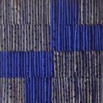 Marcos Coelho Benjamim, Quadrado Azul, Zinco oxidado pintado em azul, 27 x 27 cm
