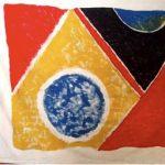 Ascânio MMM Bandeira Óleo sobre Tecido 145 x 195 cm, 1985.