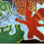 Delson Uchoa Sem Título Óleo sobre Lona 145 x 205 cm, 1984.