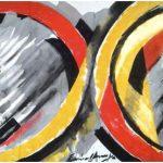 Emanoel Araújo Bandeira Óleo sobre Tecido 145 x 195 cm, 1985.