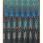 Abraham Palatnik, W – 385, Acrílica sobre madeira, 45,7 x 33,6 cm, 2012.