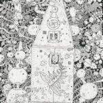Rodrigo Godá Série Invenções Nanquim e Aquarela sobre papel 70 x 50 cm