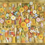 Luiz Fernando Borgerth Bouquet Acrílica sobre Tela 30 x 40 cm, 2004.