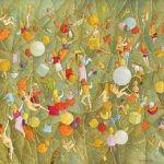 Luiz Fernando Borgerth, Emaranhado, Acrílica sobre tela, 30 x 40 cm