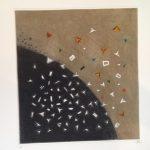 Arthur Luiz Piza, Eclatement Tellurica, Gravura em metal, 43 x 40 cm, Tiragem E/A.