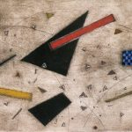 Arthur Luiz Piza, En Passant, Gravura em metal, 56,5 x 76 cm, Tiragem E/A.