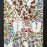Mara Martins, Esquemas Afetivos 7, Porcelana, 39 x 28 x 8 cm, 2005.