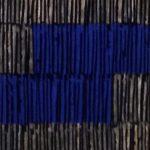Marcos Coelho Benjamim, Quadrado, zinco oxidado pintado em Azul, 27 x 27 cm