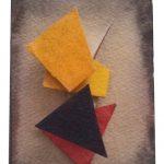 Arthur Luiz Piza, 426, Aquarela e colagem, 12 x 8 cm
