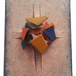 Arthur Luiz Piza, 462, Aquarela e colagem, 11 x 8 cm