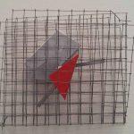 Arthur Luiz Piza, Sem título, Aramado, 20 x 20 x 8 cm