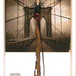 Anna Bella Geiger, D-Flumenpont n°2 – Universe – New York 2001-2005, Fotografia, encáustica, vidro, plástico e limal, 39 x 31 cm