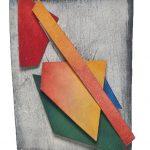 Arthur Luiz Piza, 423, Aquarela e Colagem, 12 x 9 cm